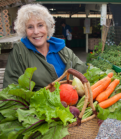 Root Connection CSA Member With Share Harvest