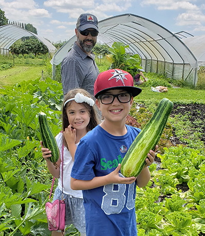 Root Connection Kids Garden U-Pick Zucchini